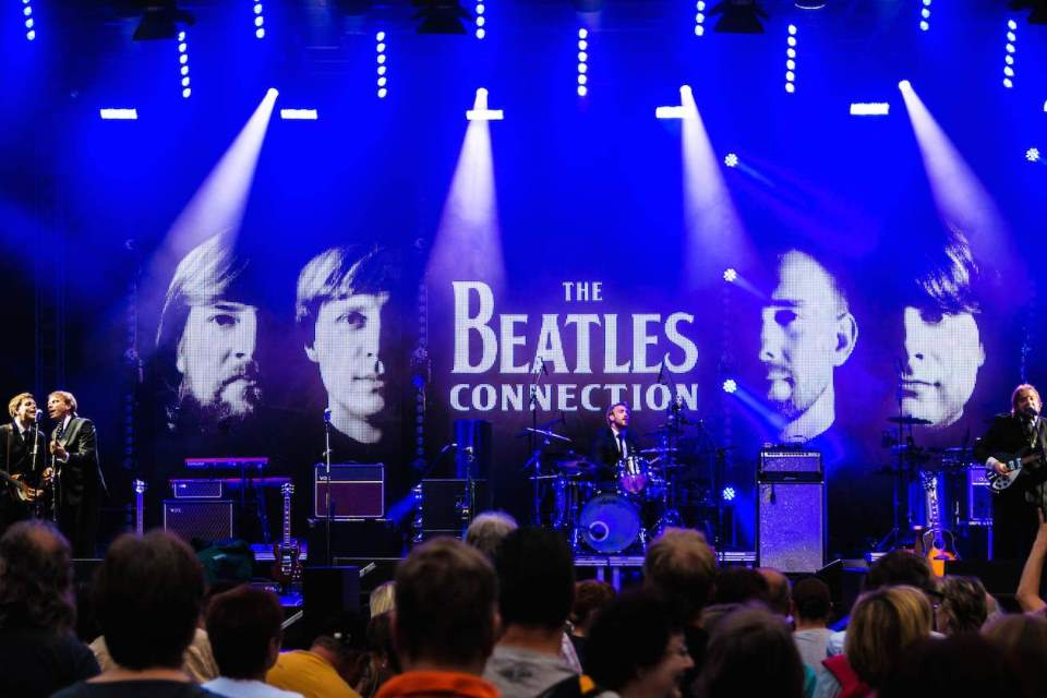 Die deutsche Tribute Band The Beatles Connection