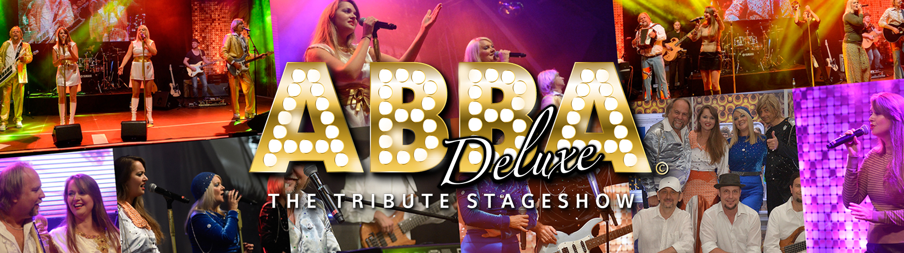 ABBA DELUXE The Tribute Stageshow Bildercollage