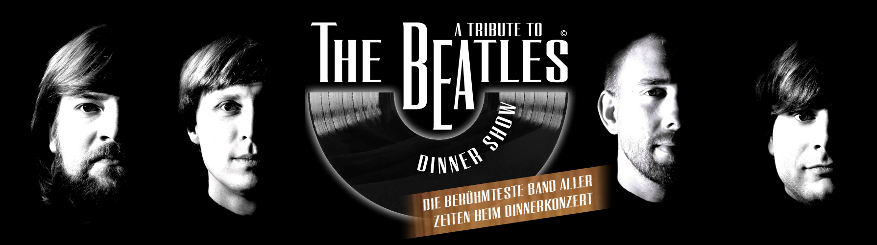A Tribute to The Beatles Dinnershow mit The Beatles Connection