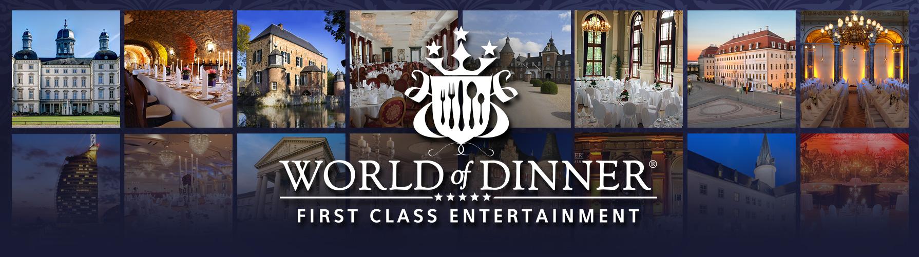 WORLD of DINNER - Alle Spielorte - WORLD of DINNER