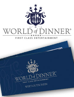 World of Dinner - Wertgutschein